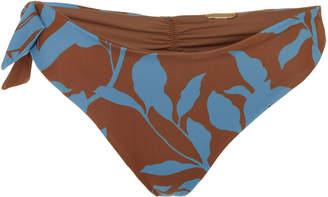 Johanna Ortiz Exclusive African Violet Printed Bikini Briefs Size: 4