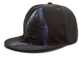 Givenchy Shark Print Panel Cap - Mens - Black Multi