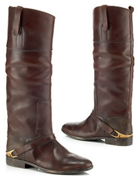 Golden Goose Charlye Pull-On Riding Boot