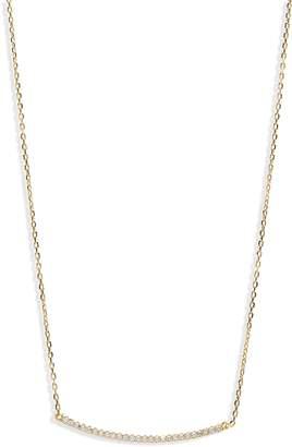 Shashi Pave Bar Necklace