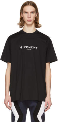 Givenchy Black Vintage Logo T-Shirt