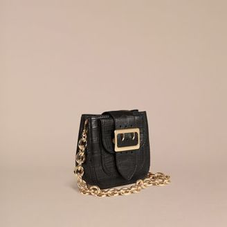 Burberry The Small Square Buckle Bag in Alligator Limited Edition $13,000 thestylecure.com