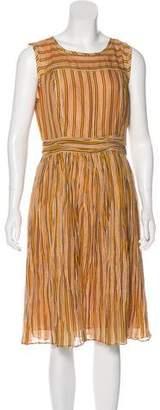 Tory Burch Striped Midi Dress w/ Tags