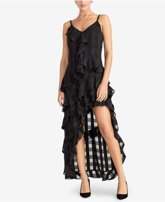Rachel Roy Remi Ruffled Checkered Dress