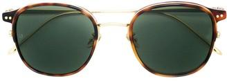 Linda Farrow round sunglasses