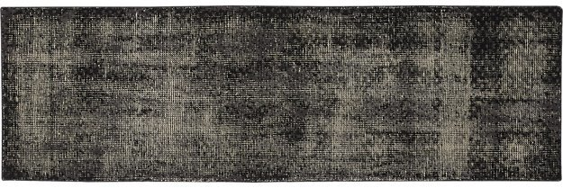 CB2The Hill-Side Disintegrated Floral Grey Runner 2.5'x8'