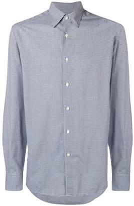 Ermenegildo Zegna micro-checked shirt