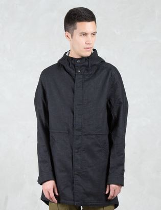Wings + Horns Vented Linen Fishtail Parka $745 thestylecure.com
