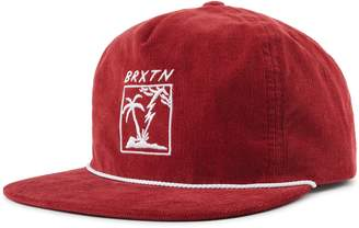 a87ca63a291 Brixton Stranded Embroidered Corduroy Cap