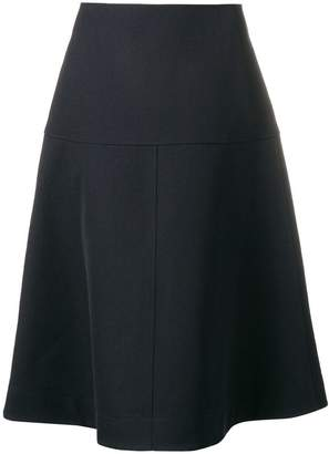 Jil Sander Navy flared skirt