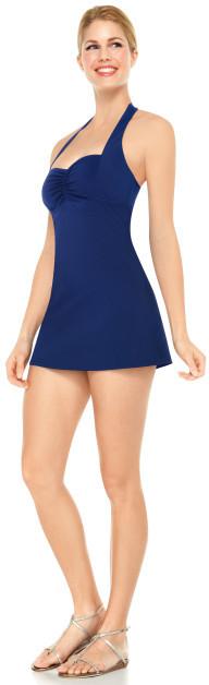 Spanx Halter Swim Dress