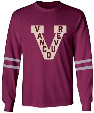 Red Jacket Vancouver Millionaires NHL Vintage Thompson Long-Sleeve Cotton Blend Tee