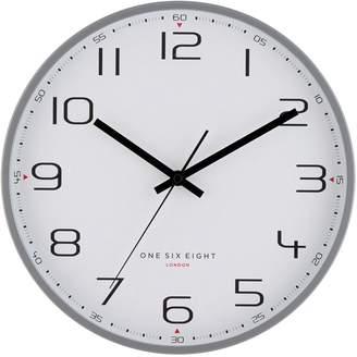 One Six Eight London Carmen Silent Wall Clock, 50cm