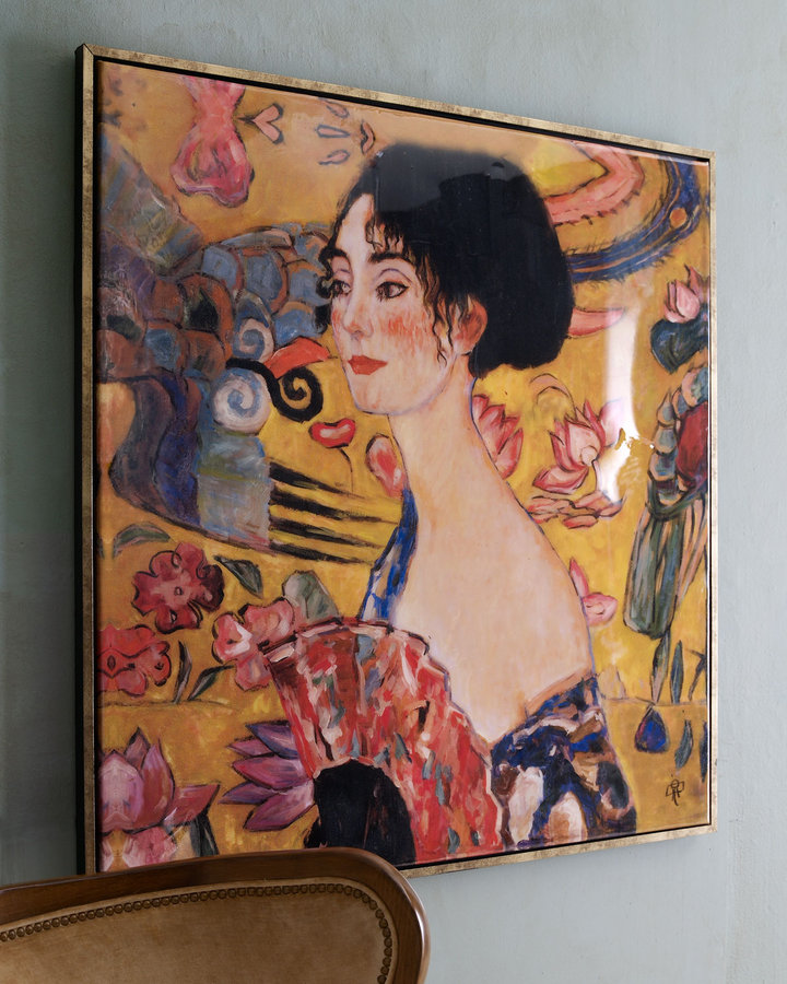 John-Richard Collection Femme A L'Evantail Giclee