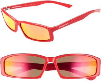 56dc758014ad Balenciaga Red Women s Sunglasses - ShopStyle