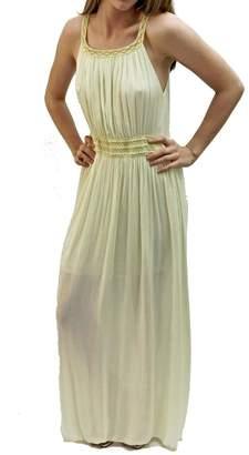 Italian Collection Yellow Roman Goddess