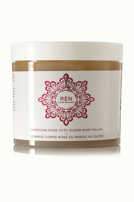 Ren Skincare Moroccan Rose Otto Sugar Body Polish, 330ml - Colorless