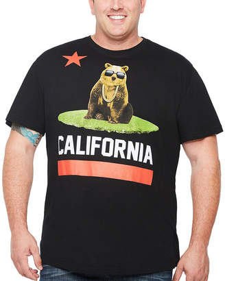 Novelty T-Shirts Short Sleeve Animal Graphic T-Shirt-Big and Tall