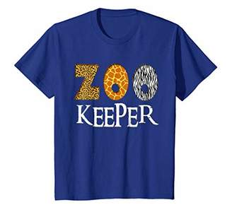 Zookeeper Shirt | Animal Lover Print & Pattern T-Shirt