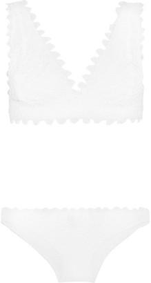 Mare Crochet-knit Bikini - White