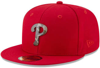 New Era Philadelphia Phillies Camo Capped 59FIFTY-fitted Cap