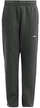 Phipps - Logo Printed Cotton Track Pants - Womens - Khaki