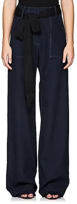 BY. Bonnie Young BY. BONNIE YOUNG WOMEN'S WOOL CANVAS WORK PANTS