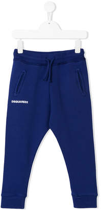 DSQUARED2 elasticated waist track pants