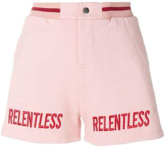 Zoe Karssen relentless embroidery shorts