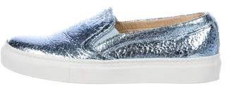 M.Gemi M. Gemi Metallic Slip-On Sneakers