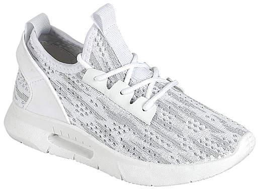 White Easy 6K Running Shoe - Girls