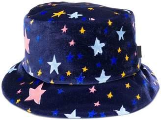 Moschino star print hat