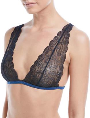 Neiman Marcus Skin Lace Willow Triangle Bra