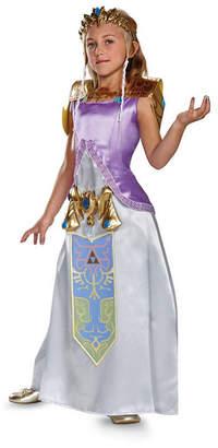 BuySeasons Legend of Zelda Princess Zelda Deluxe Big Girls Costume