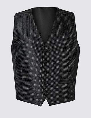 Marks and Spencer Geometric Waistcoat with Sparkle
