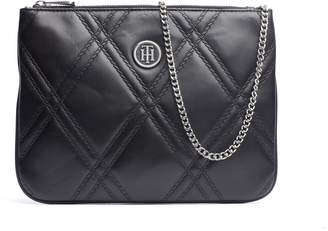 Tommy Hilfiger Quilted Flap Crossbody