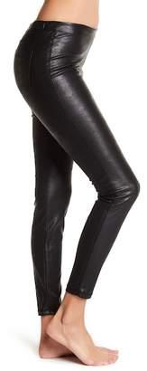 Blank NYC BLANKNYC Denim Faux Leather Pull On Leggings