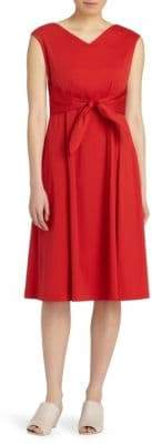 Lafayette 148 New York Ximena Self-Tie Dress