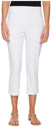 Tribal Stretch Bengaline 22 Pull-On Capris with Back Leg Detail Women's Capri