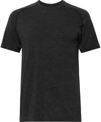 Lululemon Metal Vent Tech Mélange Stretch-Jersey T-Shirt