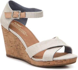 Toms Sienna Wedge Sandal - Women's