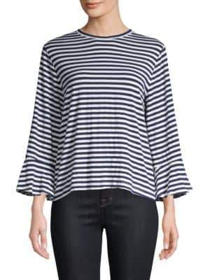 Clu Asymmetric Stripe Shirt
