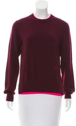 Celine Cashmere Layered Sweater