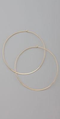 Bop Bijoux Large Gold Hoops