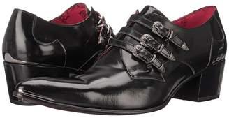 Jeffery West 3 Buckle Men's Slip on Shoes