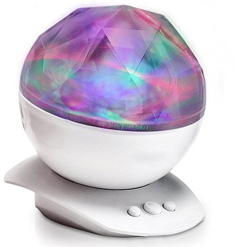 pys aurora projection led night light lamp color changing mood lighting projector with speaker relaxing best mood lighting