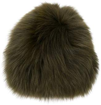 Yves Salomon fox fur beanie