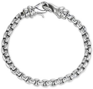Macy's Men's Linked Bracelet in Stainless Steel, Created for