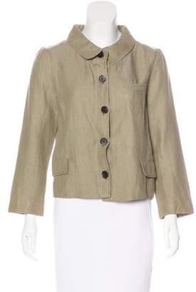 Proenza Schouler Linen Casual Jacket