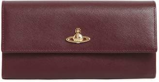 Vivienne Westwood Opio Saffiano Leather Continental Wallet